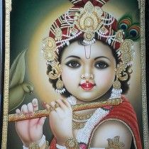 Gopalkrishna Original Painting  By Kailash Sahu  Buy this from The Art and craft Gallery