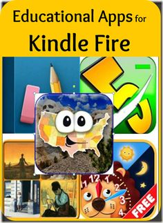 Educational apps for Kindle Fire ~ while I contemplate getting a Kindle Fire :) Gardner-Faver Brockman Best Learning Apps, Learning Websites, Fun Learning, Blended Learning, Mobile Learning, Learning Resources, Teaching Ideas, Homeschool Apps, Homeschooling