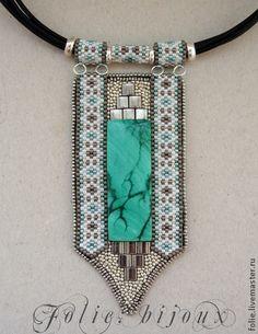 Кулоны, подвески ручной работы. Ярмарка Мастеров - ручная работа Кулон с малахитом. Handmade.