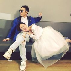 HaHa and his lovely wife Byul look like a happy couple as usual behind the scenes of 'Infinity Challenge'. On May Byul shared the adorabl… Infinity Challenge, Running Man Korean, Korean Variety Shows, Adventure Movies, Lovey Dovey, Korean Music, New Love, Celebrity Couples, Popular Culture