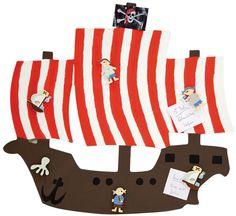 Memoboard Piratenschiff