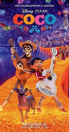 Aspiring musician Miguel teams up with charming trickster Hector on an extraordinary journey through the Land of the Dead.