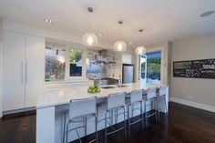modern villa kitchen