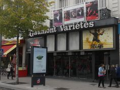 """Fermeture du Cinéma """"Les Variétés"""" en octobre 2013 (Boulevard Foch en Centre-ville d'Angers)"""