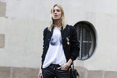 Street Style: Paris Fashion Week Fall 2014 - Vogue