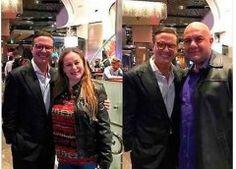 Luis Miguel reaparece en Las Vegas muy sonriente con sus fans
