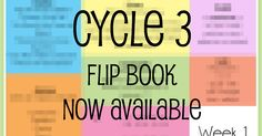 The Classical Conversations  Cycle 3 memory work flip book is now available on C3 under username: melodystroud.     The pages are 4x6 a...
