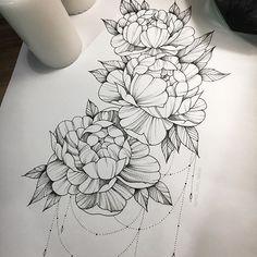 Ideas for tattoo mandala shoulder rose tatoo Flower Tattoo Back, Flower Tattoo Designs, Back Tattoo, Tattoo Thigh, Thigh Tattoo Flowers, Tiny Tattoo, Foot Tattoos, Sleeve Tattoos, Tattoos Skull