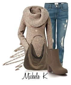Untitled #1006 by mkomorowski on Polyvore featuring polyvore, fashion, style, Frame Denim, Shoes of Prey, Pamela Love, Anastasia Beverly Hills and clothing