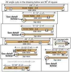 lumber dimensions - Google Search