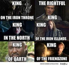 All the kings in Game of Thrones #GameofThrones