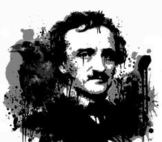 Edgar Allan Poe The Raven Shower Curtain> Bathroom> House of Macabre Edgar Allen Poe, Allan Poe, Edgar Allan, The Tell Tale Heart, Quoth The Raven, Crow Art, American Literature, Paul Green, Sale Poster