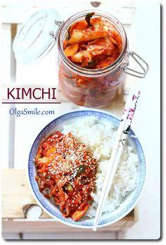 Kimchi przepis Olga Smile Kimchi, Chana Masala, Ethnic Recipes, Smile, Food, Essen, Meals, Yemek, Eten