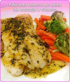 Cocina – Recetas y Consejos Fish Recipes, Seafood Recipes, Mexican Food Recipes, Great Recipes, Cooking Recipes, Healthy Recipes, My Favorite Food, Favorite Recipes, Good Food