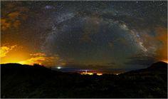 Exposición de las obras del V Concurso Internacional Astrofotografía #LaPalma #canarias - Imagen: 1º-premio del concurso en categoría paisaje astronomico