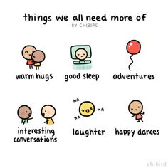 chibird: I say yes to more of all of these! ^u^ <-- ohmygoodness chibird uses the same emoji as I do!!! ^u^ #MotivationalDanceSayings Happy Thoughts, Positive Thoughts, Positive Vibes, Beau Message, Chibird, Motivational Quotes, Inspirational Quotes, Online Comics, Think