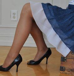 Extender slip for too-short skirts and dresses
