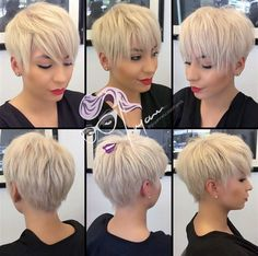 hop your locks down into some super long pixie layers like we see here. It's a great choice for fine hair and