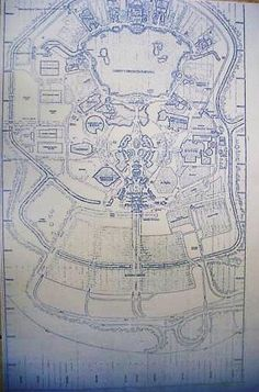 Walt Disney World EPCOT Site Plan Blueprint by BlueprintPlace, $14.99