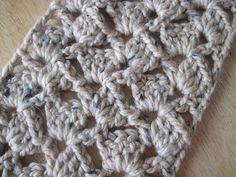 Getting Hooked: My Crochet Scarf Super Easy Pattern