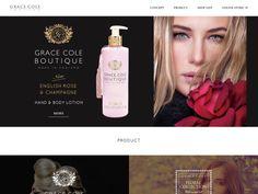 skincare / GRACE COLE « WebDesign Bookmark S5-Style