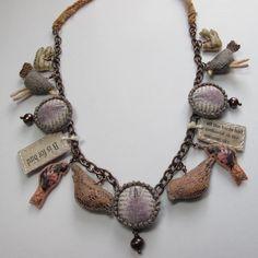 Louise Lovell handmade textile jewellery