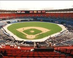 The Old Stadium Again - Had to pin this because this is where I sang the National Anthem in front of thousands of people before a major league baseball game.   It's one of my biggest moments in life.