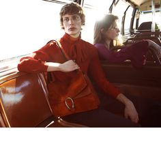 Gucci Fall Winter 2015 Campaign, photographed by Glen Luchford. #gucci