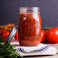 Home-made salsa is so easy to make and is infinitely more tasty than anything store-bought. It's also a great, versatile condiment to have in the fridge.