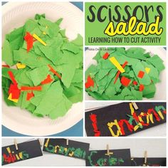 Teach How to Cut: The Lowdown on Scissors - a perfect back to school activity or two to get scissors under control the first week of school.