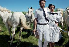 Joel Edgerton and Ruth Negga Star in Vogue Magazine