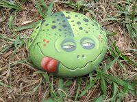 PedraBrasil: Pedras pintadas sapo