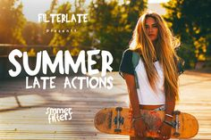 SUMMERLATE - Photoshop Actions by FilterLate on @creativemarket
