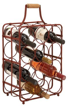 One Kings Lane - Stock Up for the Season - Traveling Wine Rack