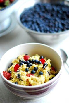kasza jaglana - śniadanie