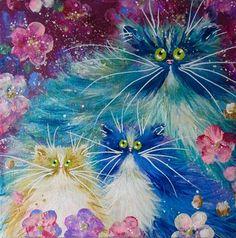 'Sweet Blooms' painting