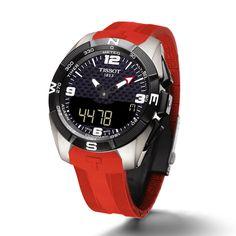 Tissot T-Touch Expert Solar Watch Tissot T Touch, Modern Watches, Watches For Men, Unique Watches, Tissot Mens Watch, Solar Watch, Online Tutorials, Perpetual Calendar, Casio Watch