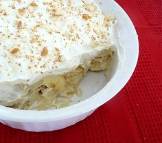 BETTER BANANA: Now, this recipe is somewhere in between Maw-Maw's (homemade with meringue ... but you may break it to me that she didn't really make it. Ha.) and your's (instant Jell-O with Cool-Whip ... And for the record, JUST as good). But this Southern Banana Pudding like this looks delicious.