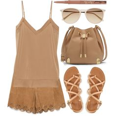 Tan Summer Outfit :)