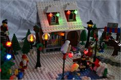 OMG, so cool! I really want to do this with my Christmas Lego set when I get it!