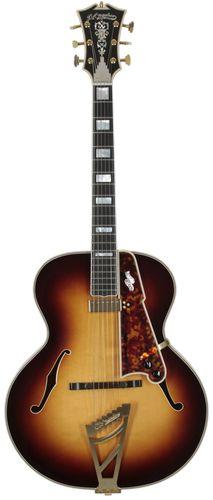 D'Angelico Guitars Style B Master Builder Series Vintage Sunburst