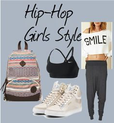 """Hip-Hop for Girls"" by kuku-claudia ❤ liked on Polyvore"