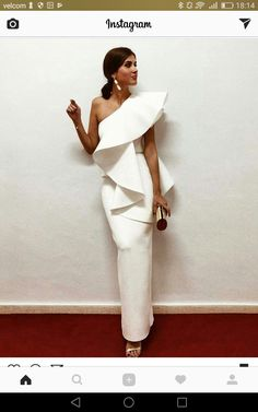 Elegant White Evening Dresses One Shoulder Ruffle Satin Sheath Floor Length Saudi Arabic Prom Dresses Evening Gowns Zipper Up Elegant Dresses, Beautiful Dresses, Nice Dresses, Evening Dresses, Prom Dresses, Formal Dresses, Wedding Dresses, Bandage Dresses, Casual Dresses