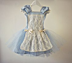 Vintage Style Alice In Wonderland Dress for Baby Girl Toddler Tutu with Lace Steampunk Victorian Costume Baby Girl Dresses, Baby Dress, Dress Up, Handmade Dresses, Unique Dresses, Toddler Tutu, Toddler Girl, Baby Girl Halloween Costumes, Halloween 2016
