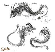 Dragón de Tierra: boceto 1 / Earth Dragon: sketch #1. Art by juanbjuan