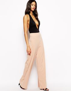 AQ AQ Belair High Waist Trousers with Wide Leg
