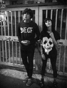 Oli Sykes and Hannah Snowdon