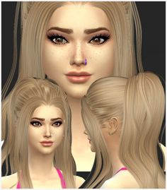 Ear and Nose Piercings at Simista via Sims 4 Updates The Sims, Sims Cc, Sims 4 Piercings, Nose Piercings, Sims 4 Tattoos, Sims 4 Cc Shoes, Sims 4 Cc Makeup, Sims 4 Cc Skin, Natural Eyeshadow