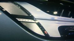 The New VOLVO S90  Front light design...