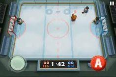 Ice Rage for iOS  http://retrosportsgamer.com/2012/02/22/ios-mini-review-ice-rage/